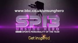 BBC Sports Unsung Hero nominations are open till 23:59 14 October 2013