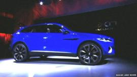 Jaguar Land Rover car