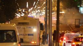 Police in Ankara