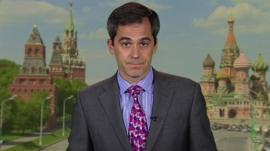 The BBC's Russia correspondent Daniel Sandford