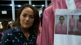 BBC reporter Victoria Fritz gets a sneak preview of 2014 Spring/Summer collections