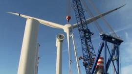 6MW wind turbine