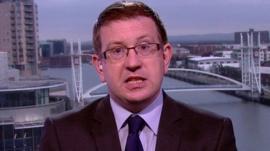 Shadow health secretary Andrew Gwynne