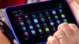 Tesco's tablet computer