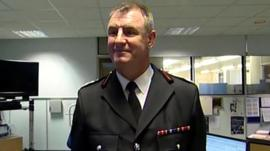 Ian Hayton of Cleveland Fire Brigade
