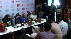 will.i.am, Quincy Jones and Timbaland