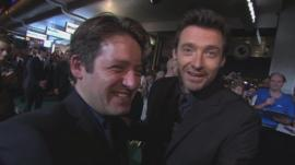 Rollo Ross and Hugh Jackman