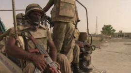 Soldiers in Balochistan