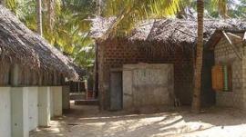 Velupillai Prabhakaran's bunker in 2009