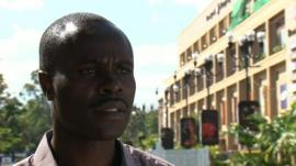 Security expert George Musamali