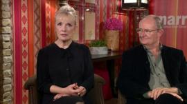 Lindsay Duncan and Jim Broadbent