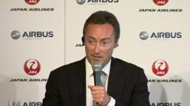 Airbus chief executive Fabrice Bregier