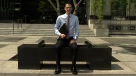 Chris Gill, expat in Singapore