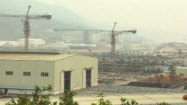 Nuclear plant in China