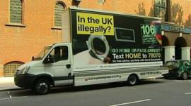 Mobile advert with