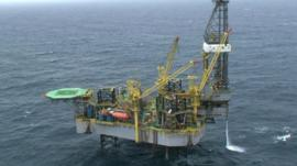 Brazilian oil platform