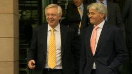 David Davis and Andrew Mitchell