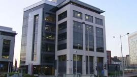 A Cardiff office block