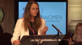 Sigridur Maria Egilsdottir, Iceland's champion debater