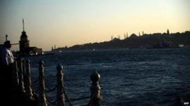 View over the Bosphorus