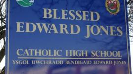 Blessed Edward Jones sign