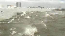 Gulf of Finland hit by stormy conditions