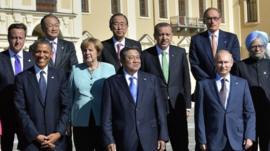 G20 leaders in St Peterburg in September