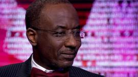 Governor of the Central Bank of Nigeria, Lamido Sanusi
