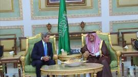 John Kerry on Saudi Arabia visit