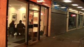 Pop-up restaurant in empty Lewisham shop
