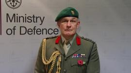 Brigadier Bill Dunham, Deputy Commandant General, Royal Marines