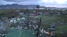 Devastation in Philippines