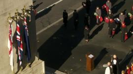 The Queen at the Cenotaph