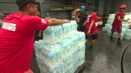 Aid in Tacloban