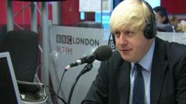 Boris Johnson on BBC London 94.9