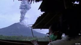 Indonesia's Mount Sinabung