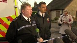 Ch Insp Rick Gooch of Derbyshire Police and Kim Basi of Derbyshire Fire & Rescue Service
