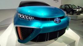 Car with fuel cell technology