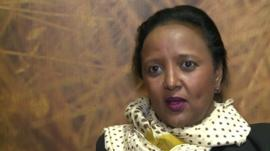 Kenya's Foreign Minister Amina Mohammed
