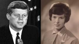 JFK and Patricia Duggan