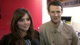 Matt Smith and Jenna Coleman