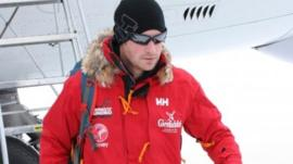 Prince Harry arrives in Antarctica