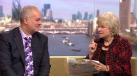 Iain Dale and Polly Toynbee on The Andrew Marr Show