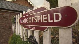 North Mangotsfield Station, South Gloucestershire