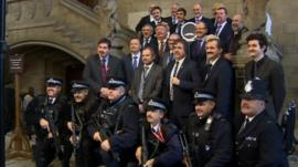 Movember moustaches in House of Commons