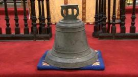 The St Thomas's Church bell
