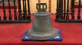 The St Thomas's Church bell