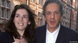 Charles Saatchi and Nigella Lawson