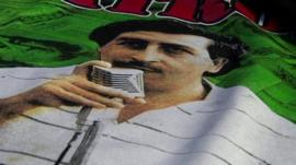 Merchandise depicting Pablo Escobar sells well in Colombia