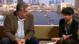 Jim Carter and Shami Chakrabarti